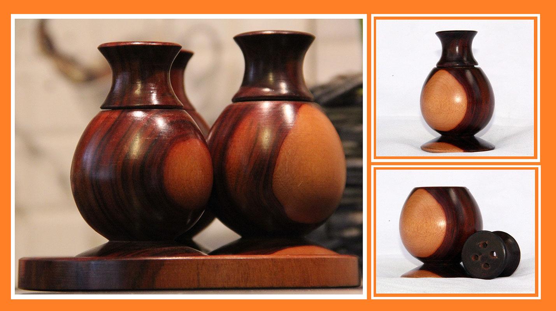 Mupani Salt Pepper Shaker Craft Zambia